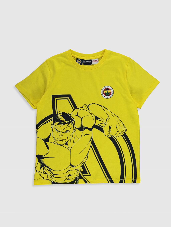 Erkek Çocuk Erkek Çocuk Fenerbahçe Baskılı Tişört ve Şort