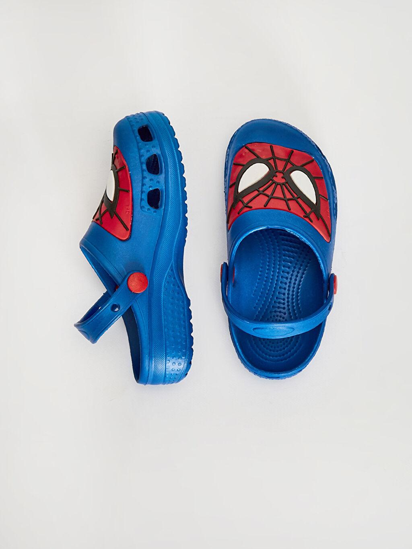 Erkek Çocuk Erkek Çocuk Spiderman Sandalet