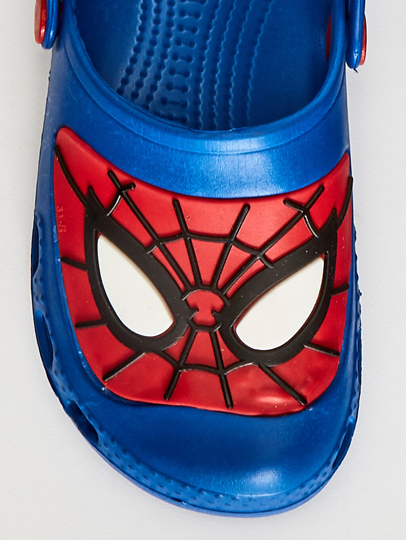 Mavi Erkek Çocuk Spiderman Sandalet