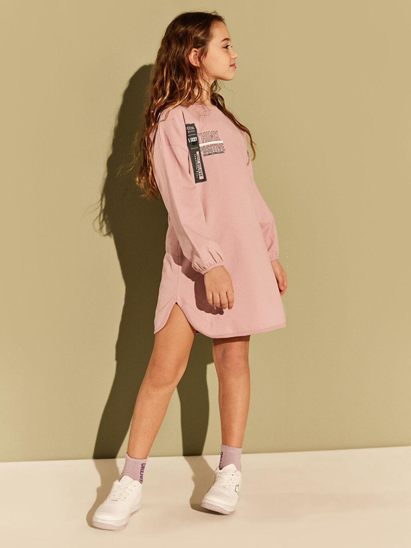 Kız Çocuk Kız Çocuk Sweatshirt Elbise