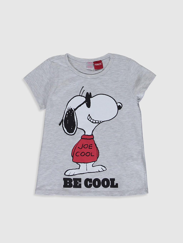 Kız Çocuk Kız Çocuk Snoopy Baskılı Pijama Takımı