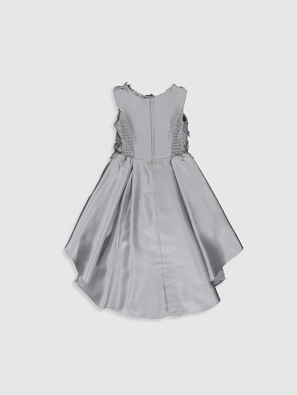 Diz Üstü Desenli Daisy Girl Kız Çocuk Çiçekli Abiye Elbise