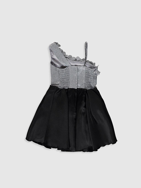 Daisy Girl Kız Çocuk Omuz Detaylı Abiye Elbise
