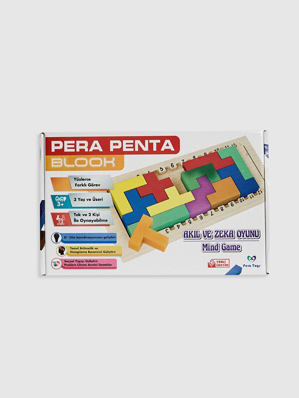 Çok Renkli Pera Penta Blook Plus Akıl ve Zeka Oyunu 0SS988Z4 LC Waikiki