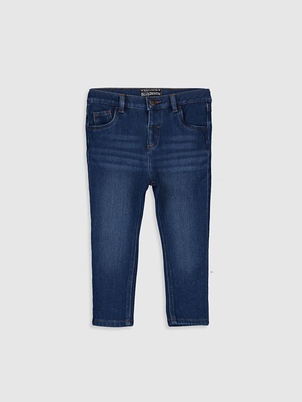İndigo Erkek Bebek Slim Fit Jean Pantolon 0S0118Z1 LC Waikiki