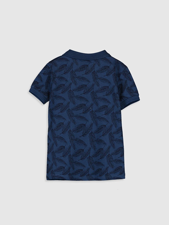 %100 Pamuk Normal Baskılı Kısa Kol Tişört Polo Erkek Bebek Baskılı Tişört