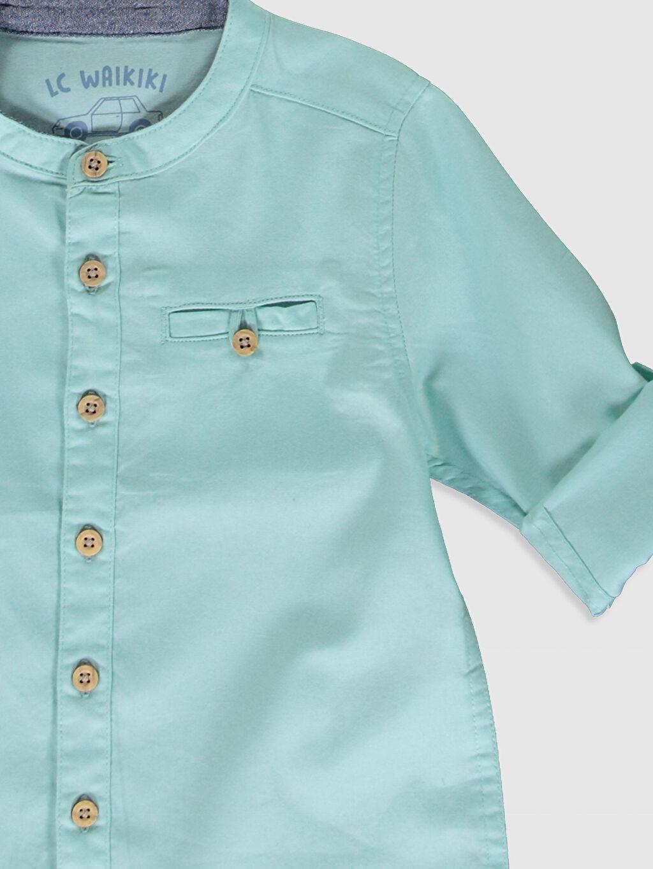 Erkek Bebek Erkek Bebek Twill Gömlek