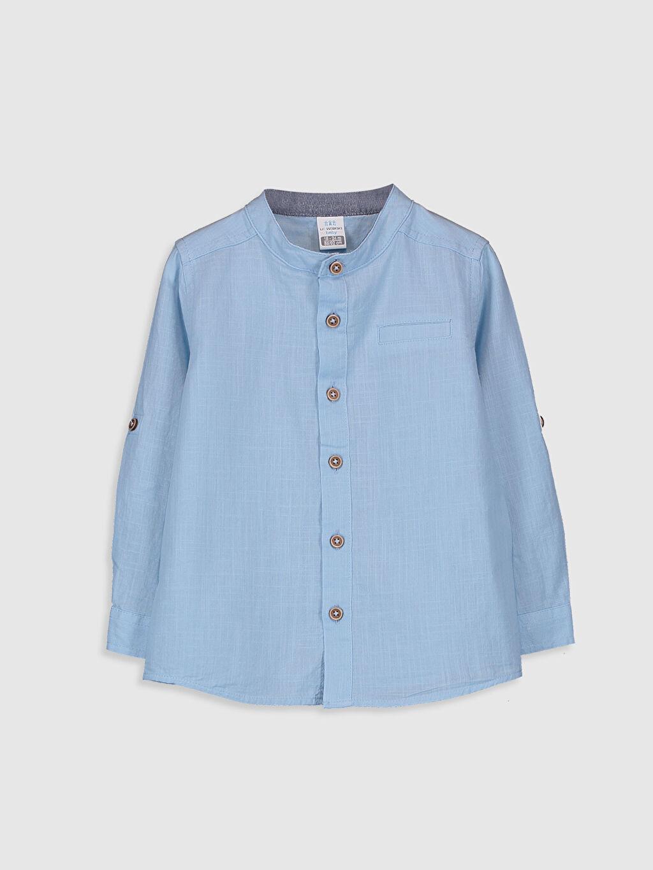 Mavi Erkek Bebek Poplin Gömlek 0S0431Z1 LC Waikiki