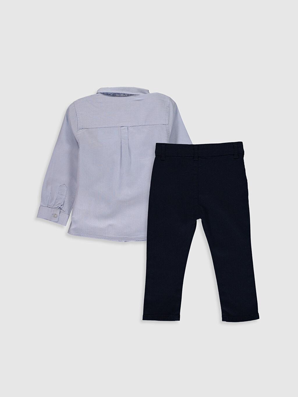 %100 Pamuk %98 Pamuk %2 Elastane %57 Pamuk %43 Polyester  Erkek Bebek Takım 3'lü