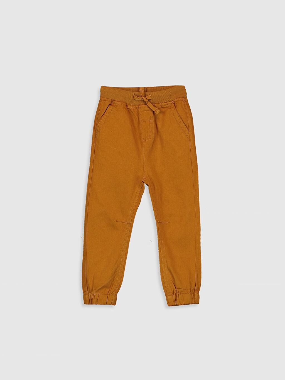 Sarı Erkek Bebek Jogger Pantolon 0S1075Z1 LC Waikiki