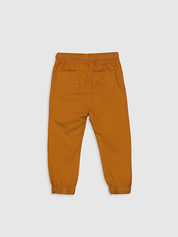 %98 Pamuk %2 Elastan Bol Erkek Bebek Jogger Pantolon