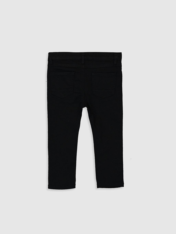 %97 Pamuk %3 Elastan Dar Erkek Bebek Slim Fit Gabardin Pantolon