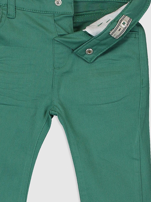 Erkek Bebek Erkek Bebek Slim Fit Gabardin Pantolon