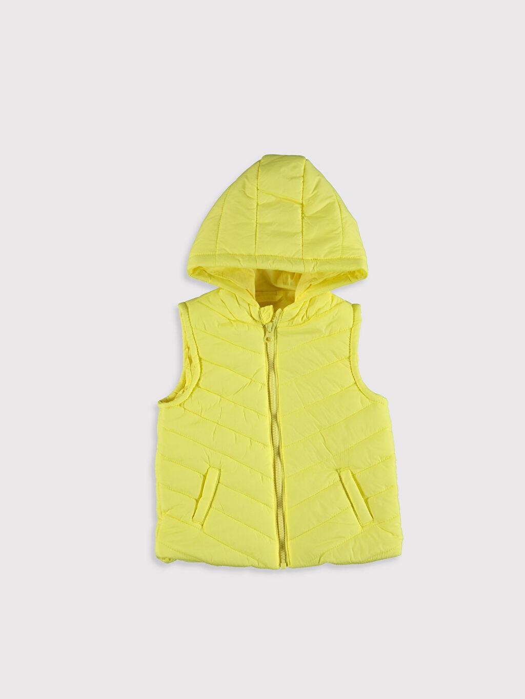 Sarı Kız Bebek Şişme Yelek 0S1243Z1 LC Waikiki