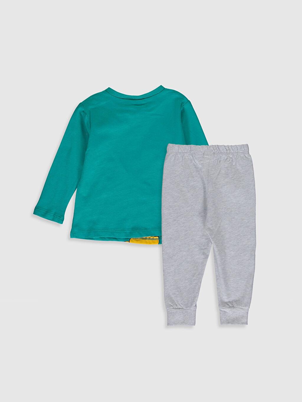 %100 Pamuk Standart Pijamalar Erkek Bebek Disney Baskılı Pijama Takımı