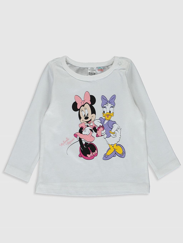 Kız Bebek Kız Bebek Disney Baskılı Pamuklu Pijama Takımı