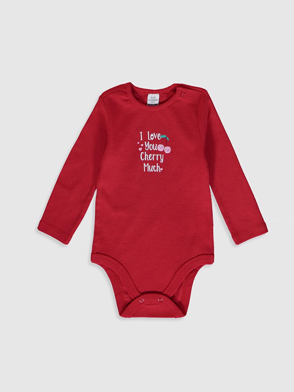 Kız Bebek Kız Bebek Baskılı Çıtçıtlı Body 2'li