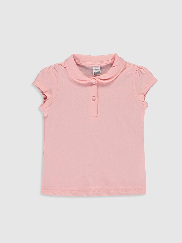 Pembe Kız Bebek Pamuklu Basic Tişört 0S1973Z1 LC Waikiki