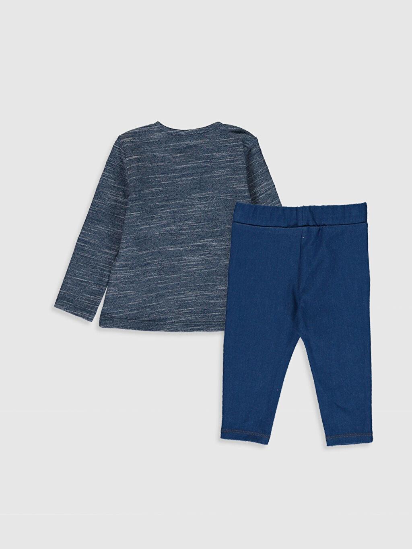 %46 Pamuk %50 Polyester %4 Elastan %68 Pamuk %30 Polyester %2 Elastan  Erkek Bebek Tişört ve Pantolon