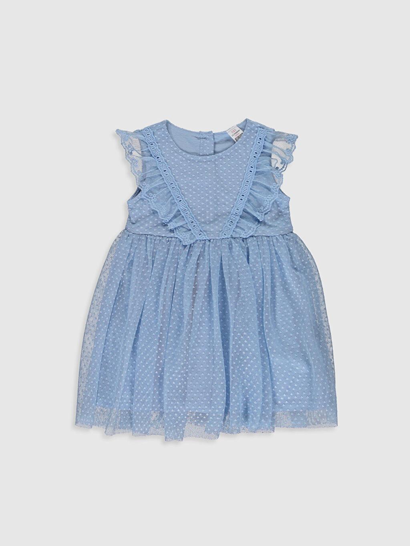 Mavi Kız Bebek Tül Elbise 0S2466Z1 LC Waikiki