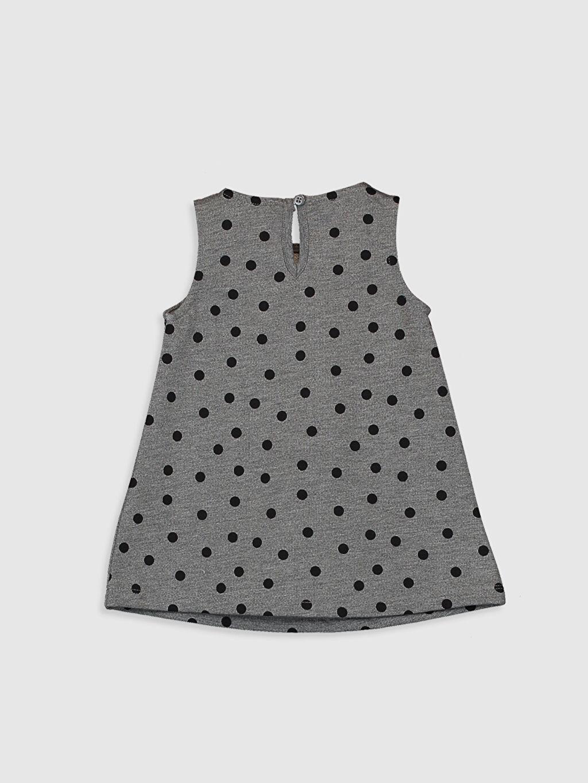 %67 Pamuk %33 Polyester Desenli Kız Bebek Desenli Elbise