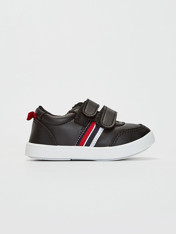 Siyah Erkek Bebek Cırt Cırtlı Günlük Spor Ayakkabı 0S2683Z1 LC Waikiki