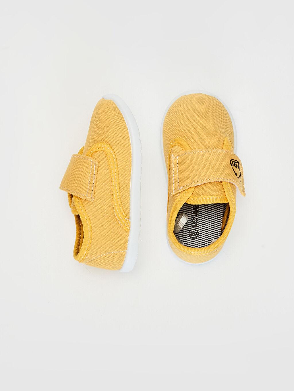 %0 Tekstil malzemeleri (%100 poliester)  Erkek Bebek Günlük Spor Ayakkabı