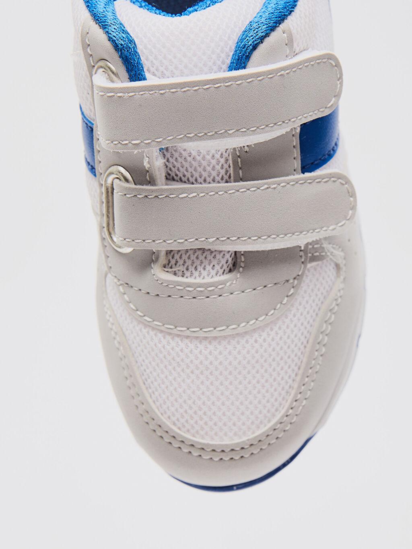 LC Waikiki Gri Erkek Bebek Cırt Cırtlı Günlük Spor Ayakkabı