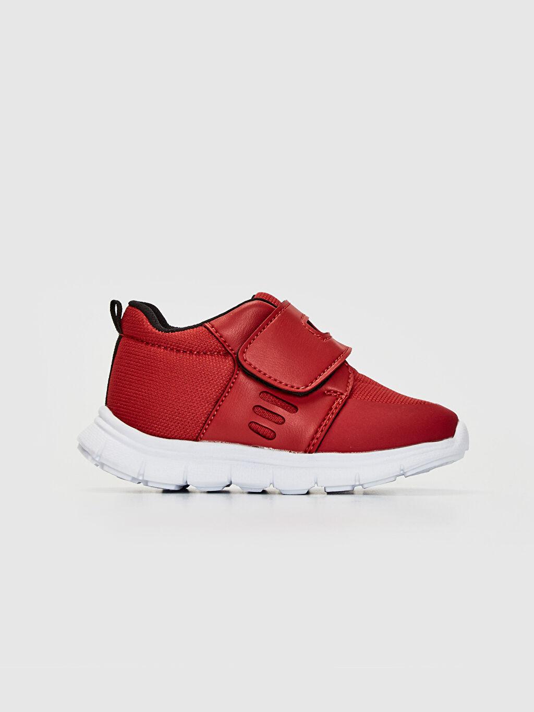 Kırmızı Erkek Bebek Günlük Spor Ayakkabı 0S2686Z1 LC Waikiki