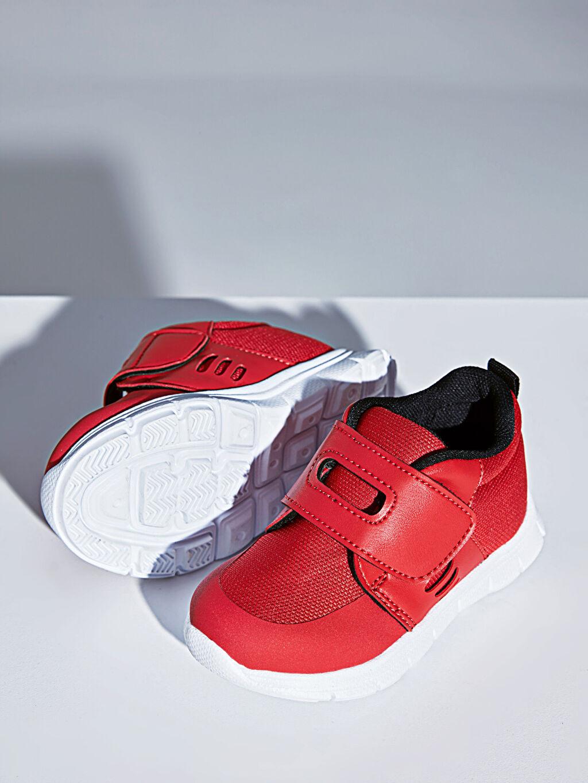 Kırmızı Erkek Bebek Günlük Spor Ayakkabı