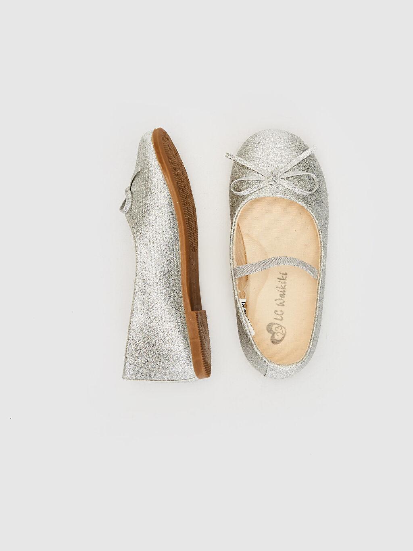 %0 Tekstil malzemeleri (%100 poliester)  Kız Bebek Fiyonk Detaylı Babet Ayakkabı