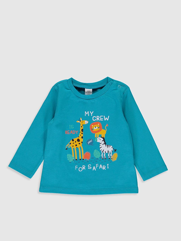 Erkek Bebek Erkek Bebek Desenli Pijama Takımı 3'lü