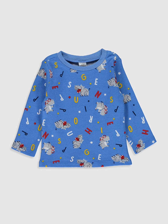 Erkek Bebek Erkek Bebek Desenli Pijama Takımı
