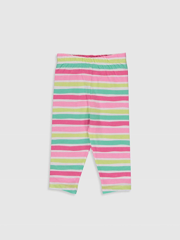 Kız Bebek Baskılı Pijama Takımı