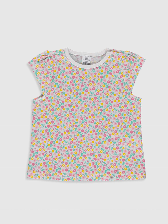 Kız Bebek Kız Bebek Desenli Pijama Takımı