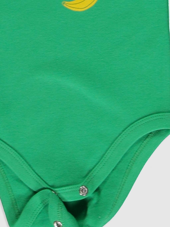 LC Waikiki Yeşil Erkek Bebek Çıtçıtlı Body 2'li