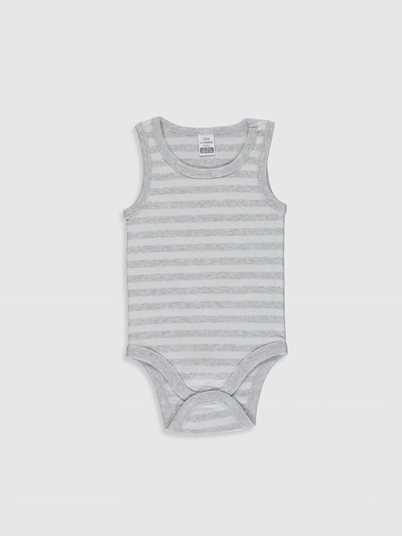 Erkek Bebek Baskılı Pamuklu Çıtçıtlı Body 2'li