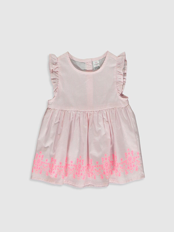 Pembe Kız Bebek Desenli Bluz 0S3629Z1 LC Waikiki