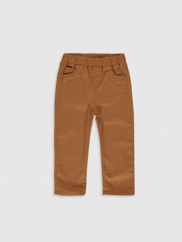 Erkek Bebek Desenli Gömlek ve Pantolon