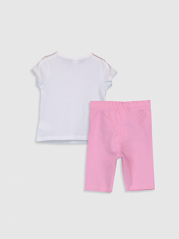 %100 Pamuk Standart Pijamalar Kız Bebek Pamuklu Pijama Takımı