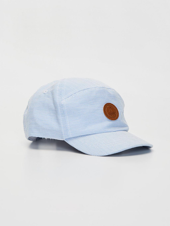 Beyaz Erkek Bebek Şapka 0S4606Z1 LC Waikiki