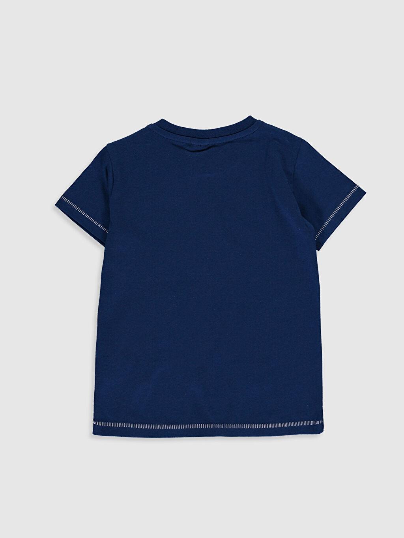 %100 Pamuk Normal Baskılı Uzun Kol Tişört Bisiklet Yaka Erkek Bebek Baskılı Pamuklu Tişört