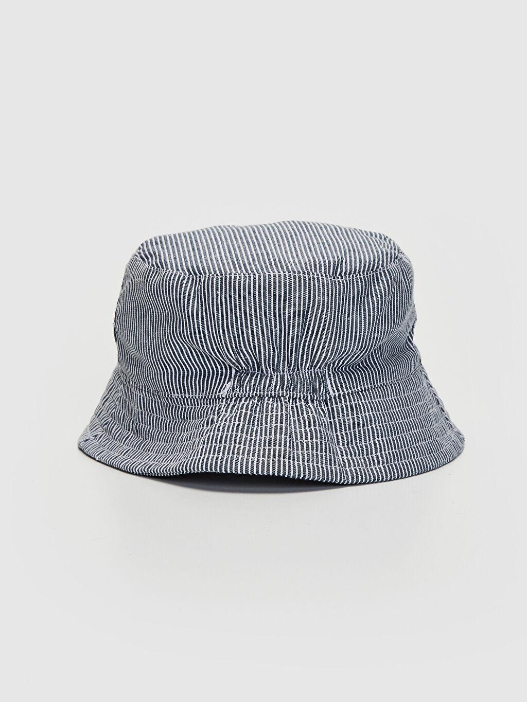 %100 Pamuk %100 Pamuk  Erkek Bebek Baskılı Şapka