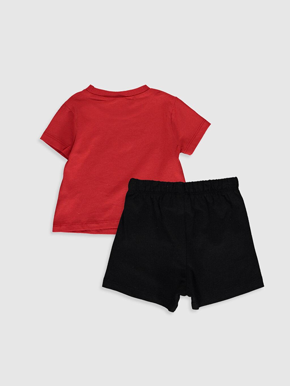 %100 Pamuk Standart Erkek Bebek Disney Baskılı Pijama Takımı