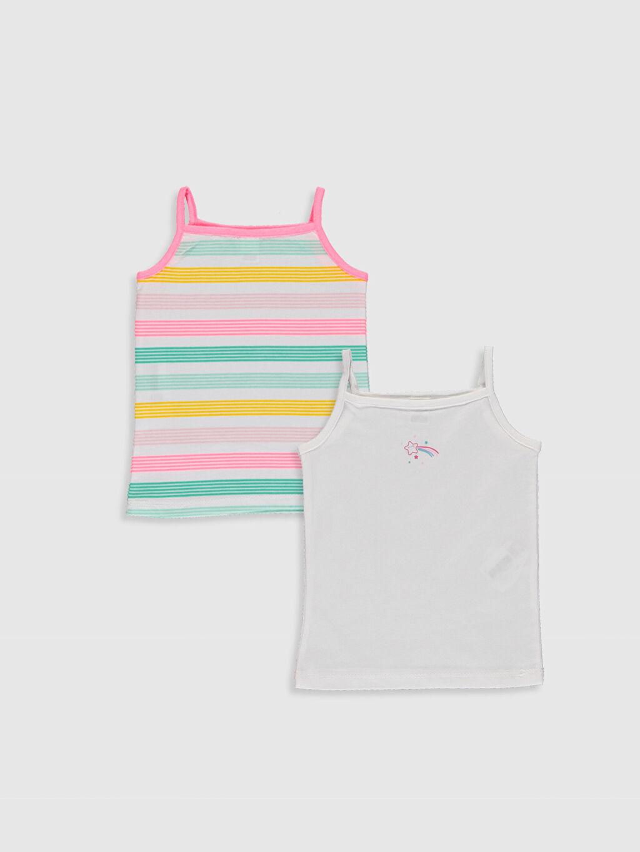 Beyaz Kız Bebek Atlet 2'li 0S5032Z1 LC Waikiki