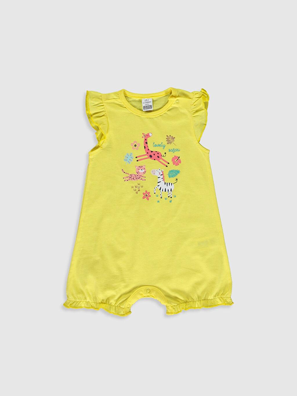 Kız Bebek Kız Bebek Desenli Tulum 2'li
