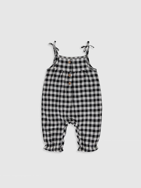 Kız Bebek Kız Bebek Ekose Tulum ve Tişört