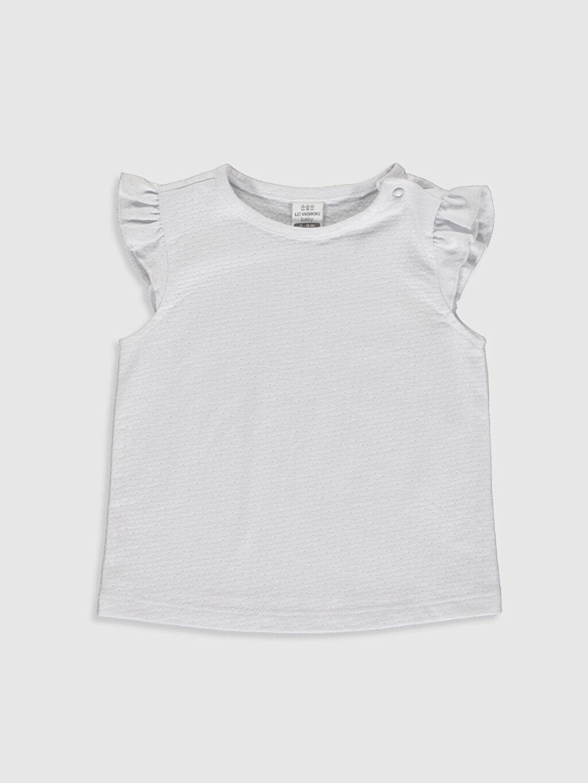 Kız Bebek Ekose Tulum ve Tişört