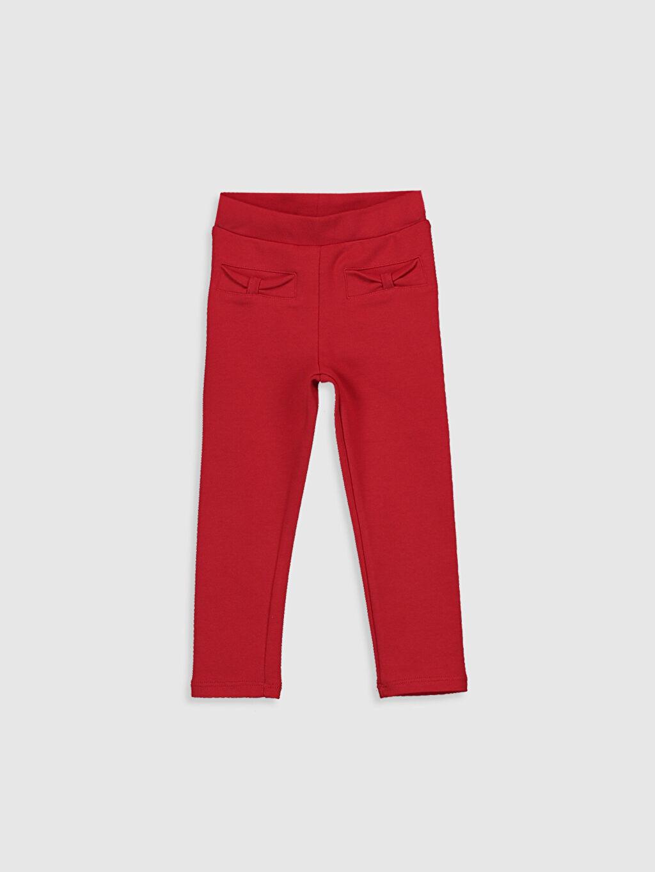 Kırmızı Kız Bebek Basic Tayt 0S5803Z1 LC Waikiki