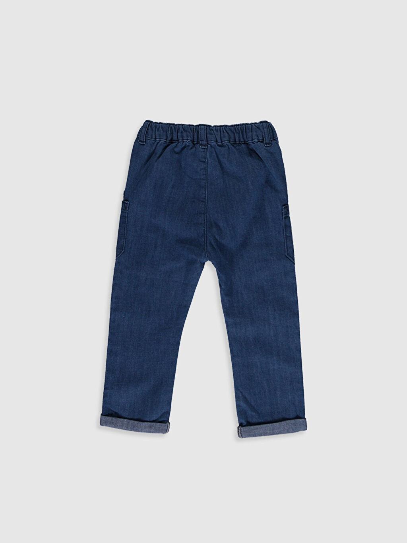 %100 Pamuk  Erkek Bebek Jean Pantolon